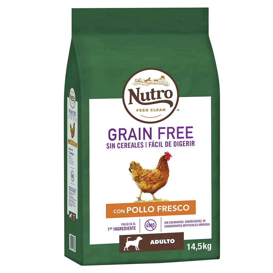 Nutro Grain Free adulto mediano pollo image number null