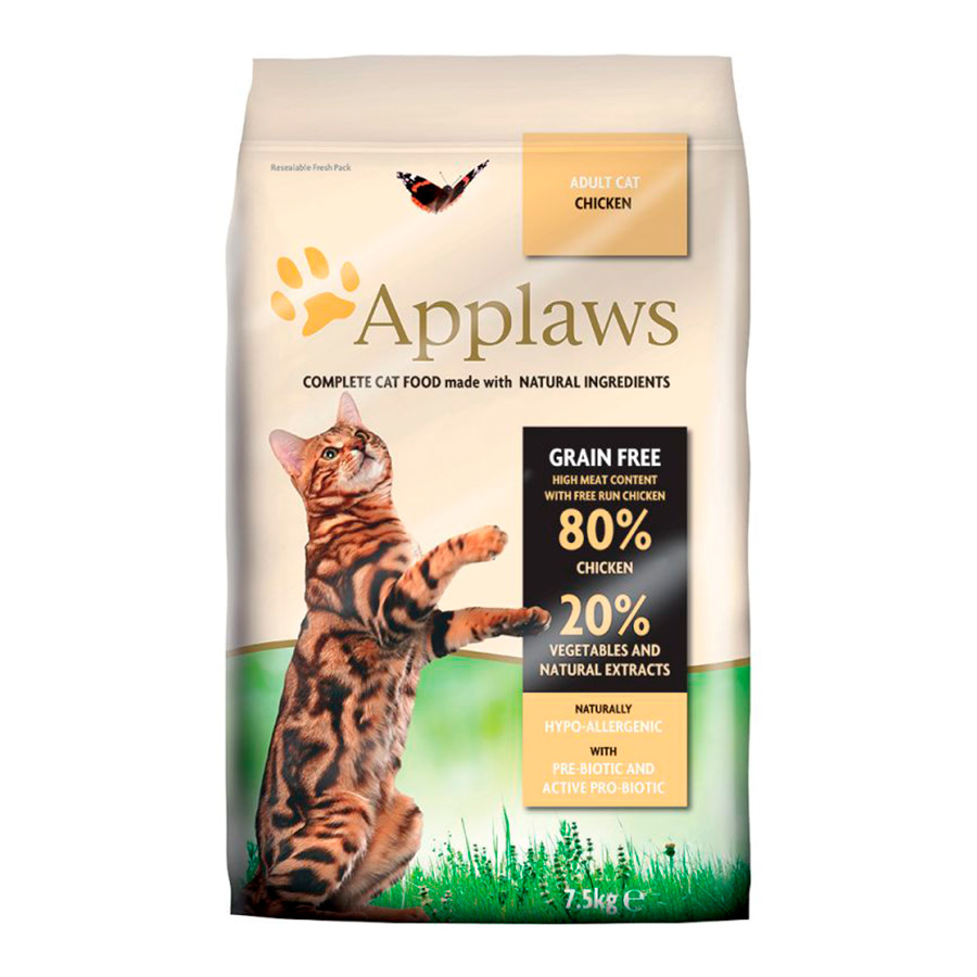 Applaws Feline Adult Grain Free pollo, , large image number null