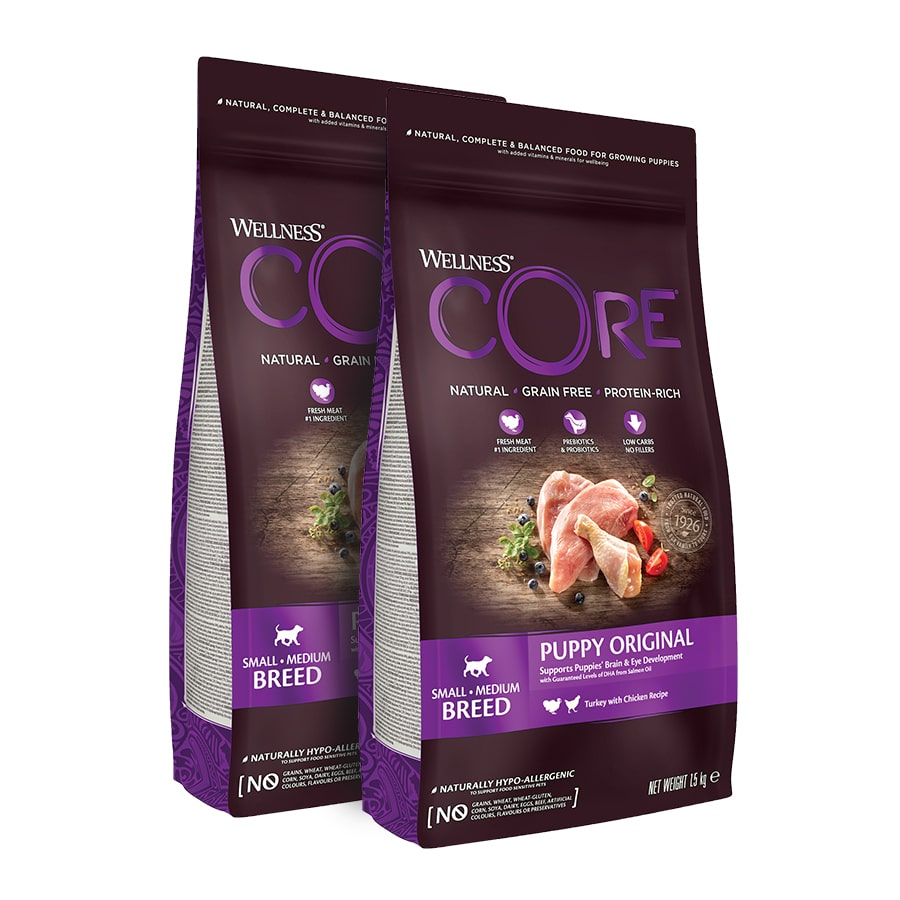Wellness Core para puppy - 2x1,5 kg Pack Ahorro, , large image number null