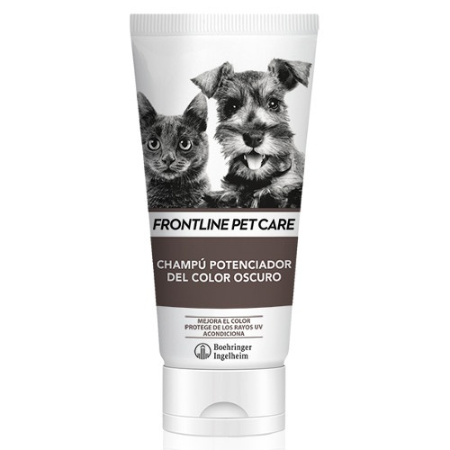 Frontline Pet Care champú para pelo oscuro image number null