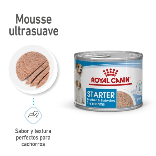Pack 12 latas Royal Canin Starter Mousse, , large image number null