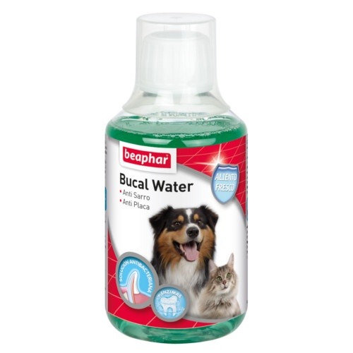 Beaphar Bucal Water enjuague para perros y gatos image number null