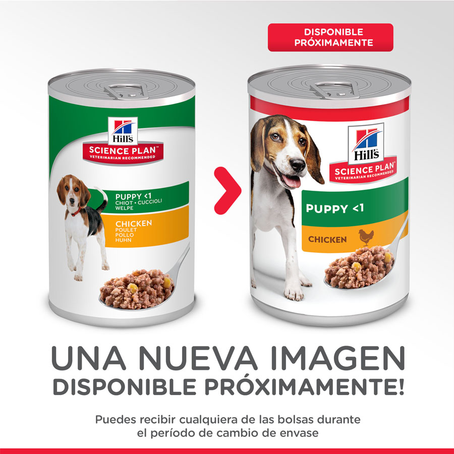 Hill's Puppy pollo lata 370gr, , large image number null