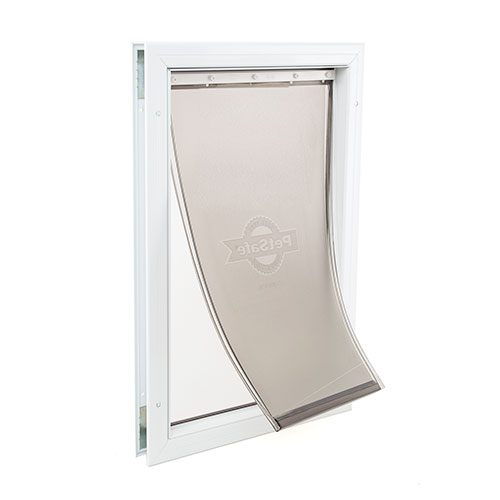 Staywell puerta para perros grandes abatible-aluminio image number null