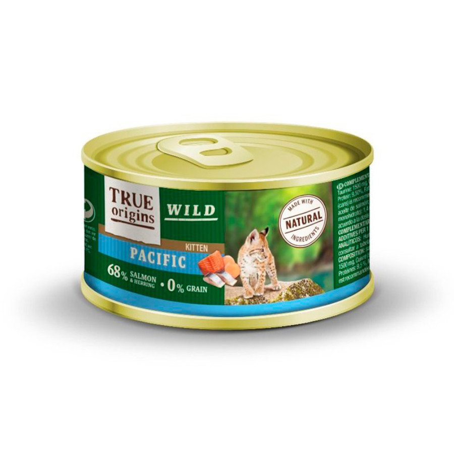 True Origins Wild Kitten lata Pacific 100 gr, , large image number null