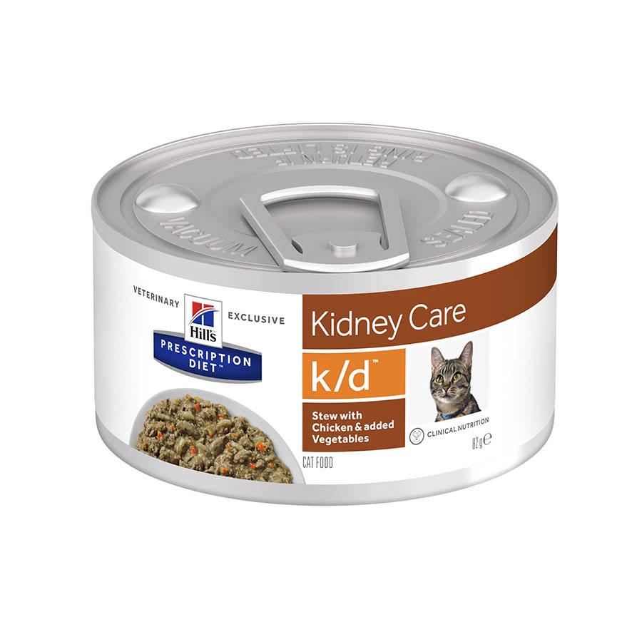 Hill's Prescription Diet Gato k/d estofado pollo 82 gr, , large image number null