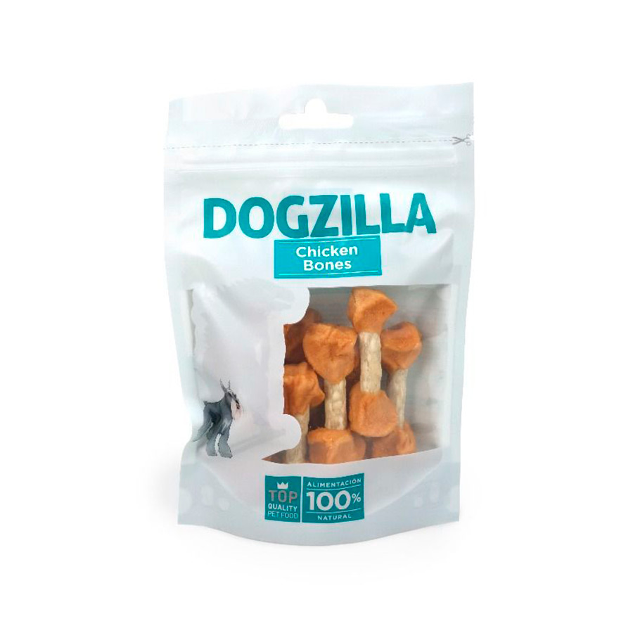 Snacks Dogzilla Chicken Bones 100 gr, , large image number null