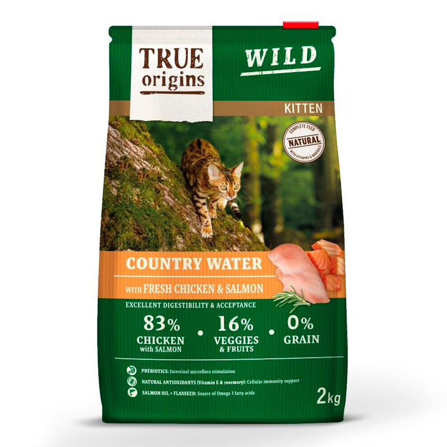 True Origins Wild Kitten Country Water, , large image number null