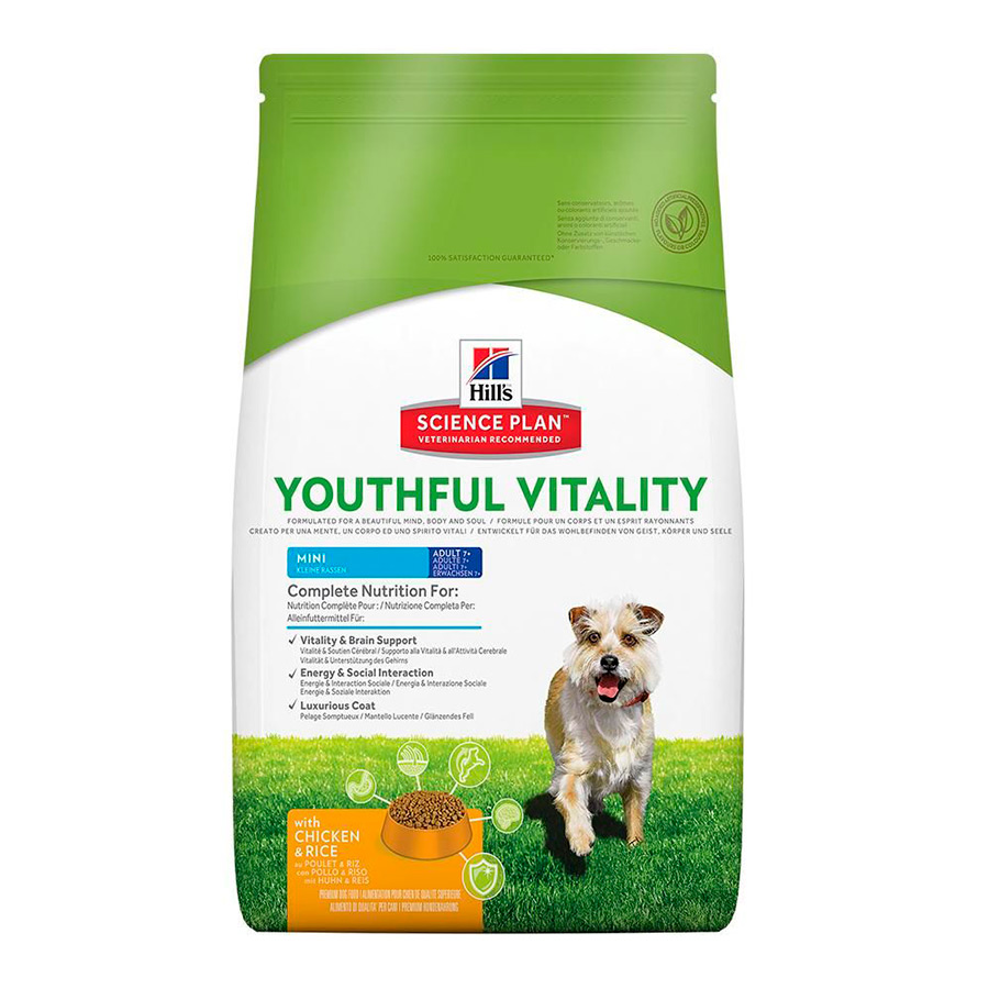 Hill's Science Plan Youthful Vitality mini adult + 7 2,5 kg image number null
