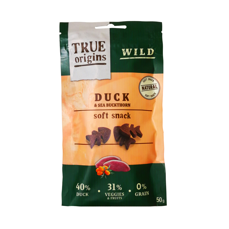 Snacks True Origins Soft Wild Cat 50 gr para gato, , large image number null