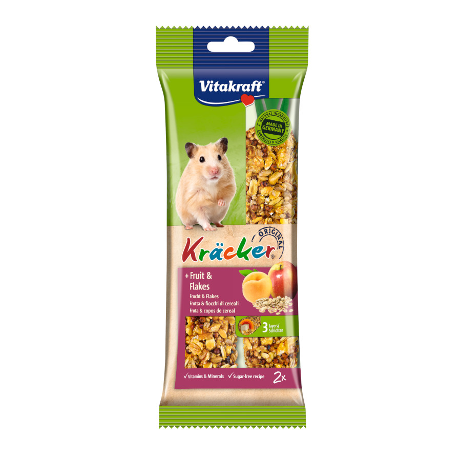 Barrita Vitakraft Emotion para Hamster - Fruta, , large image number null