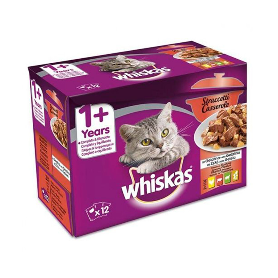 Whiskas Casserole Classics 12 x 85 g, , large image number null
