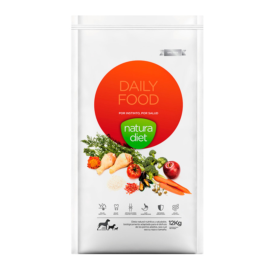 Natura Diet Daily Food alimento natural para perro, , large image number null