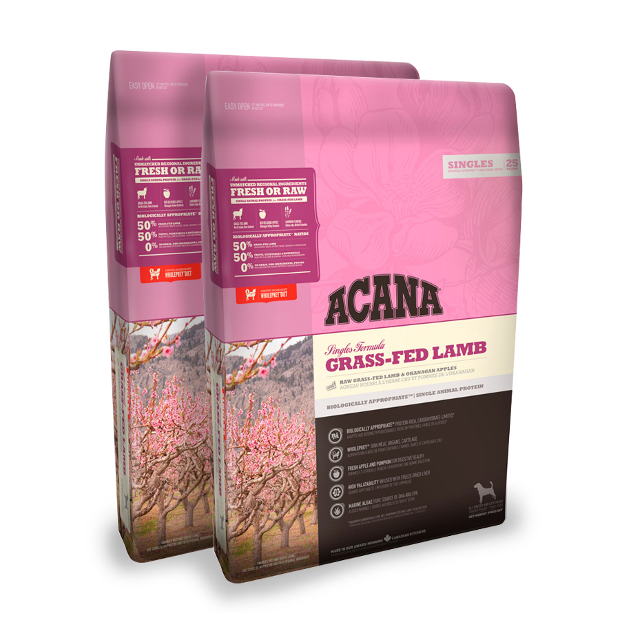 Acana All Breeds Gras-Fed Lamb cordero - 2x17 kg Pack Ahorro, , large image number null