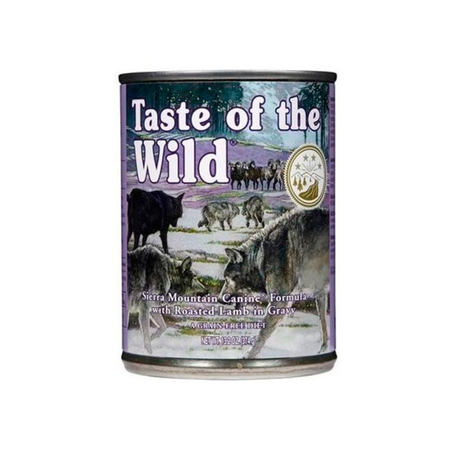 Lata Taste of the Wild Sierra Mountain 390 gr para perro , , large image number null
