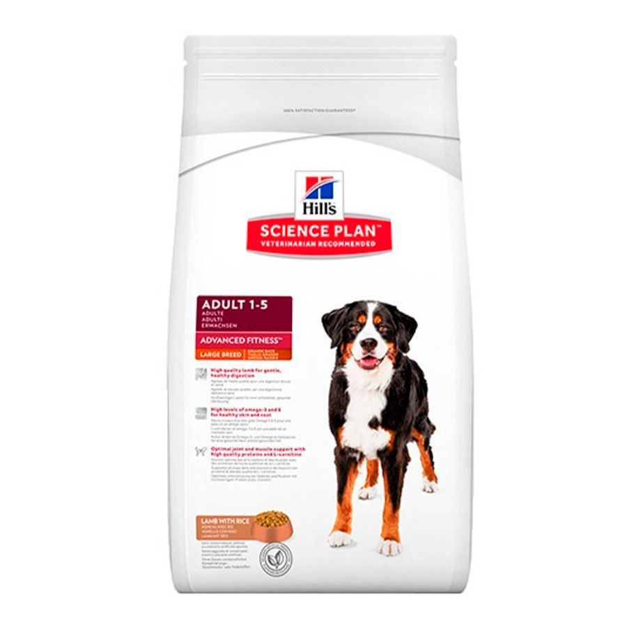 Hill's Adult Large Breed cordero y arroz 14kg, , large image number null
