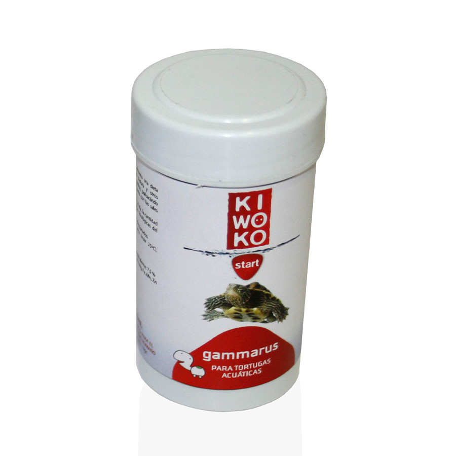 Alimento para Tortuga Acuática Gammarus Kiwoko Start 250 ml, , large image number null