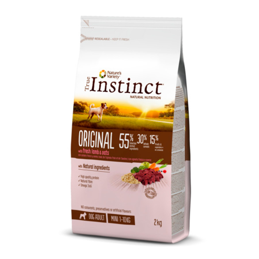 True Instinct Original Mini Adult con cordero 2 kg, , large image number null