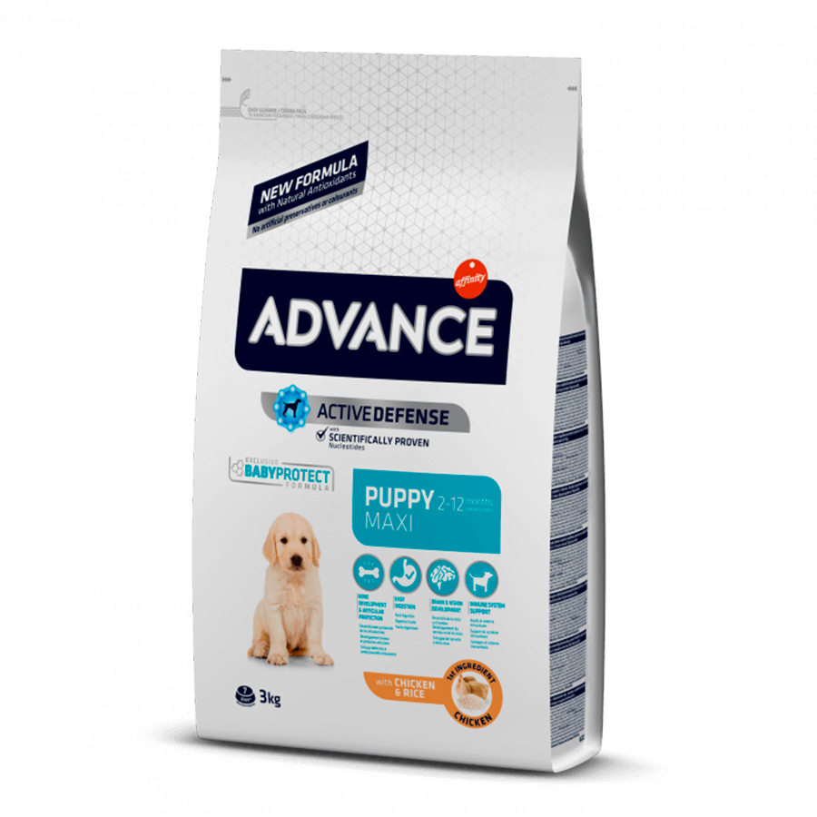 Affinity Advance Maxi Puppy pollo y arroz, , large image number null
