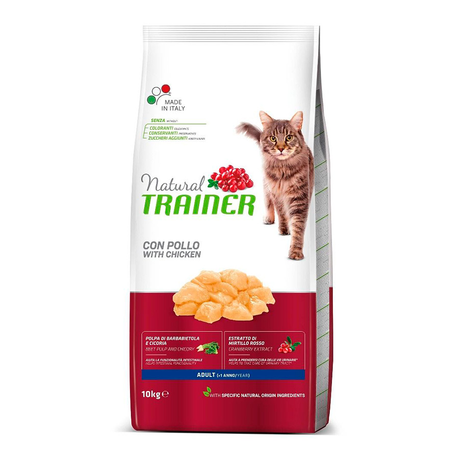 Pienso para Gatos Natural Trainer Cat Adult Pollo, , large image number null