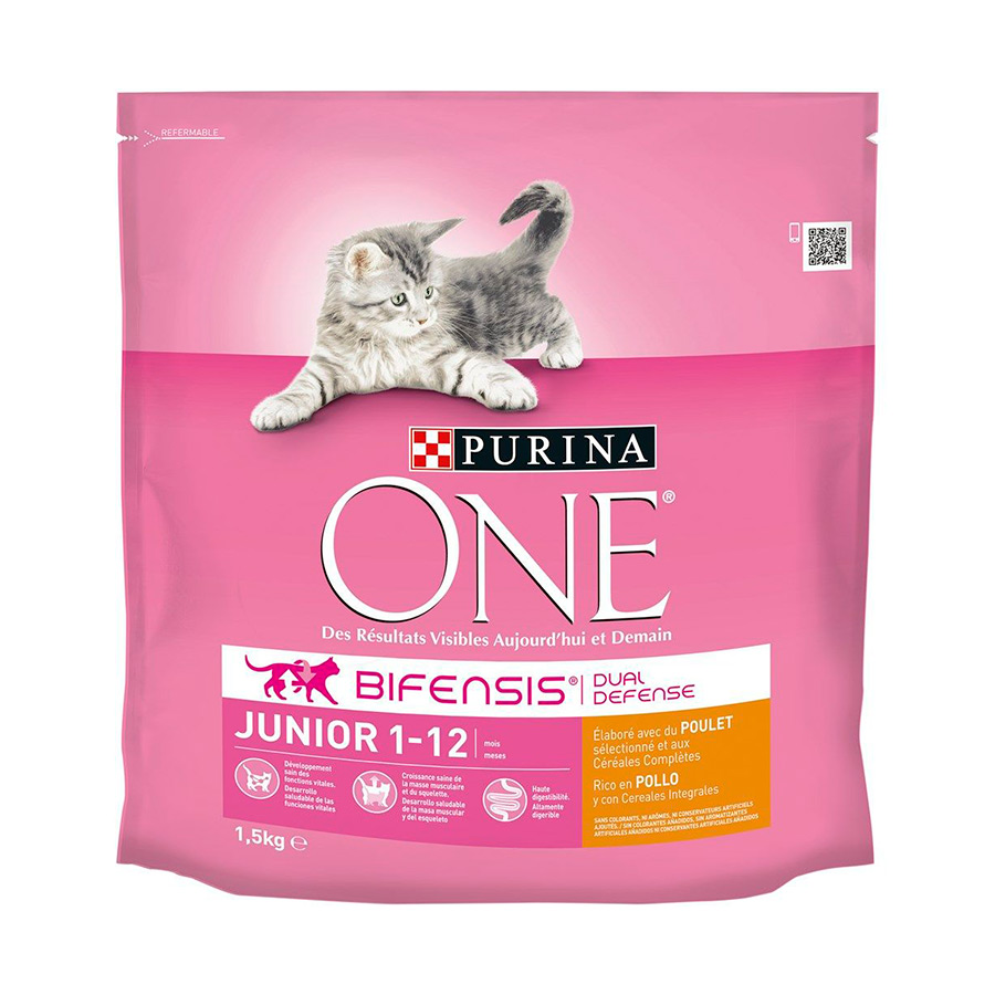 Purina One Junior pollo, , large image number null