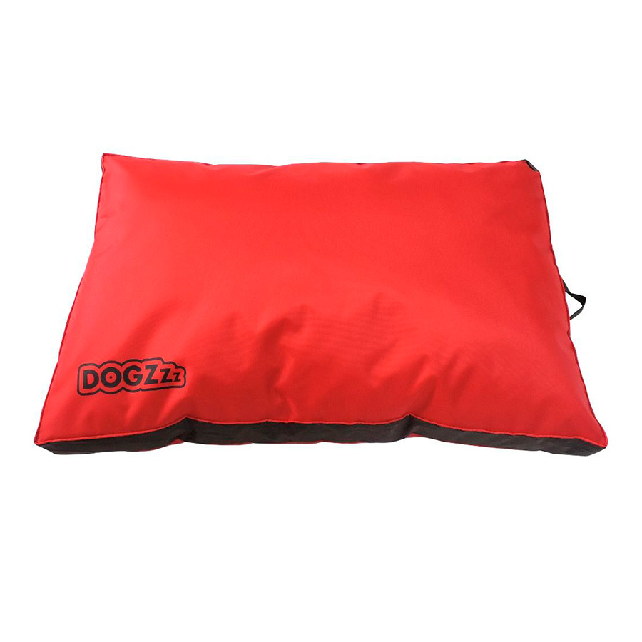 Cama Dogzz para perros color rojo  image number null