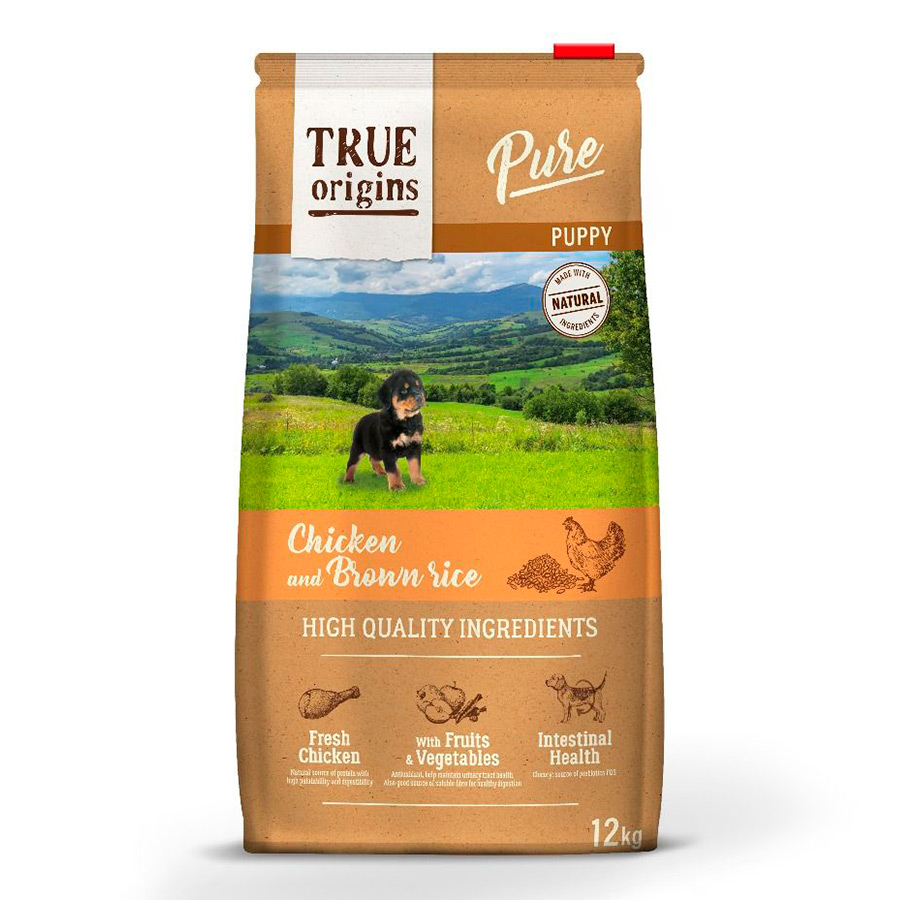 True Origins Pure Dog Puppy Pollo - 2x12 kg Pack Ahorro, , large image number null