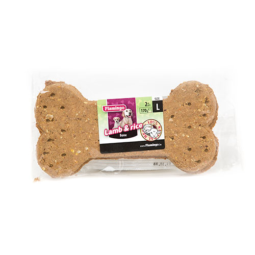 Flamingo Lamb & Rice Galleta chuches para perros image number null