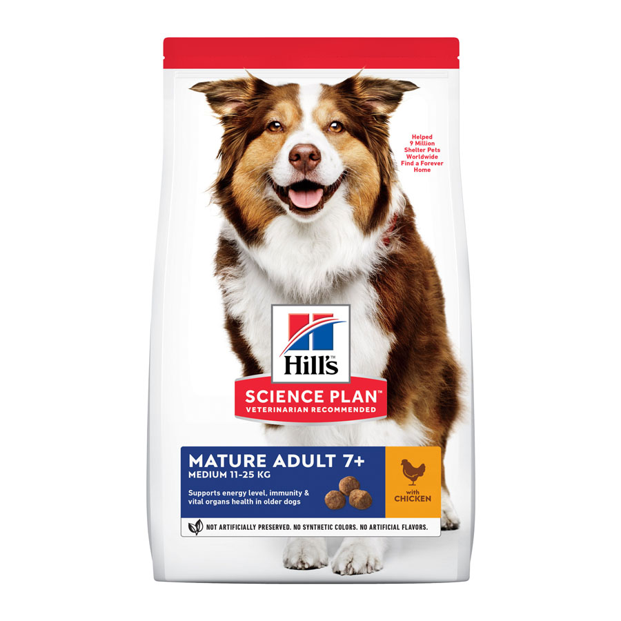 Hill's Mature +7 pollo 14 kg, , large image number null