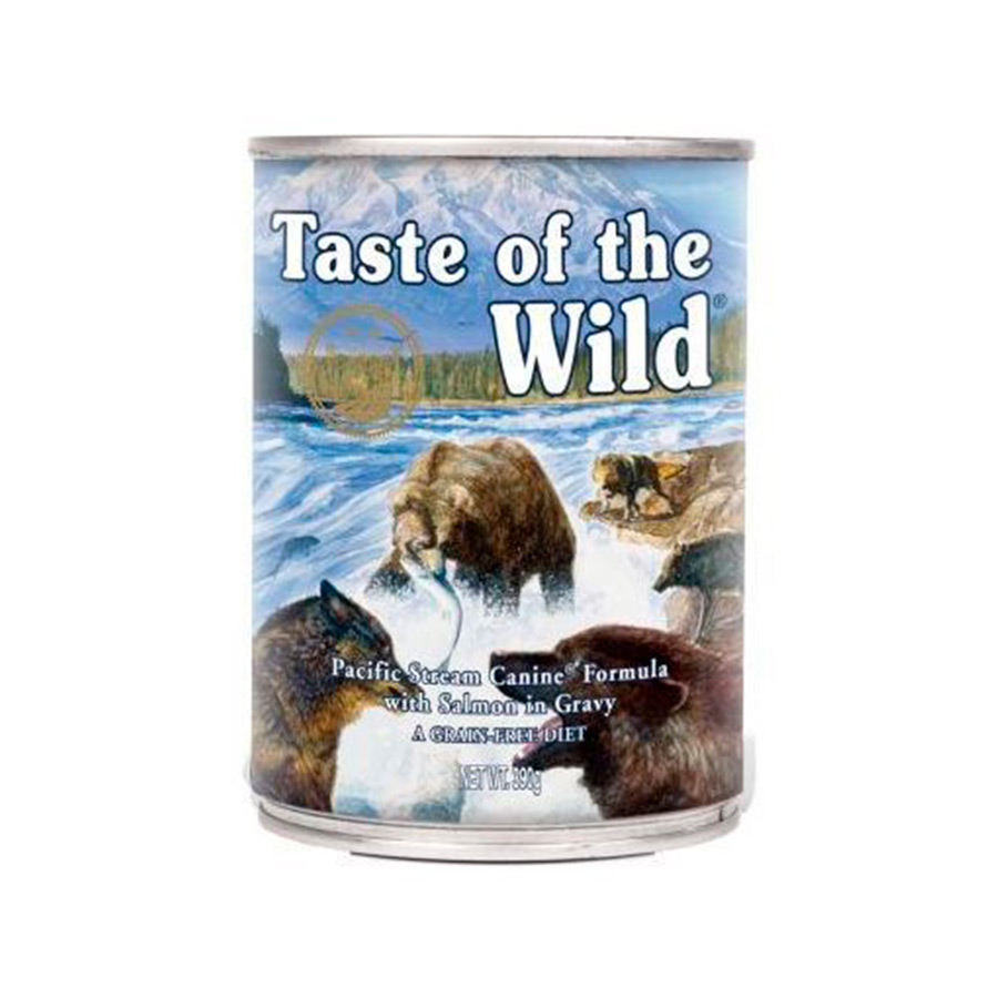 Lata Taste of the Wild Pacific Stream 390 gr para perro, , large image number null