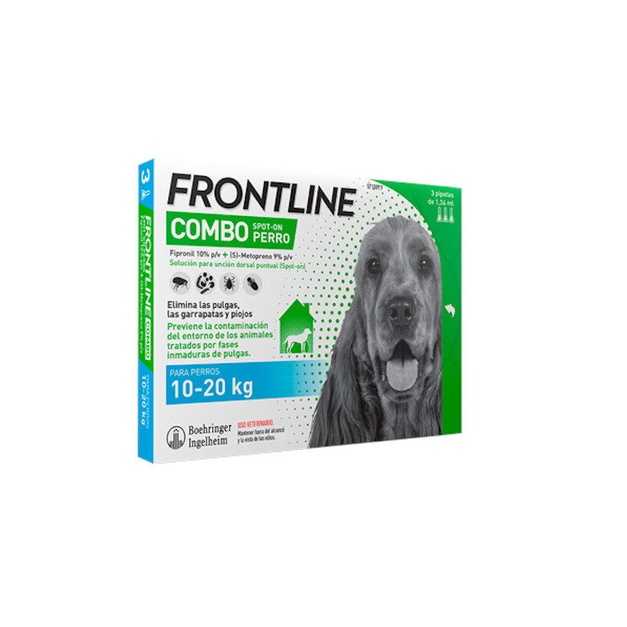 Frontline Combo Spot On antiparásito perro 10-20kg image number null