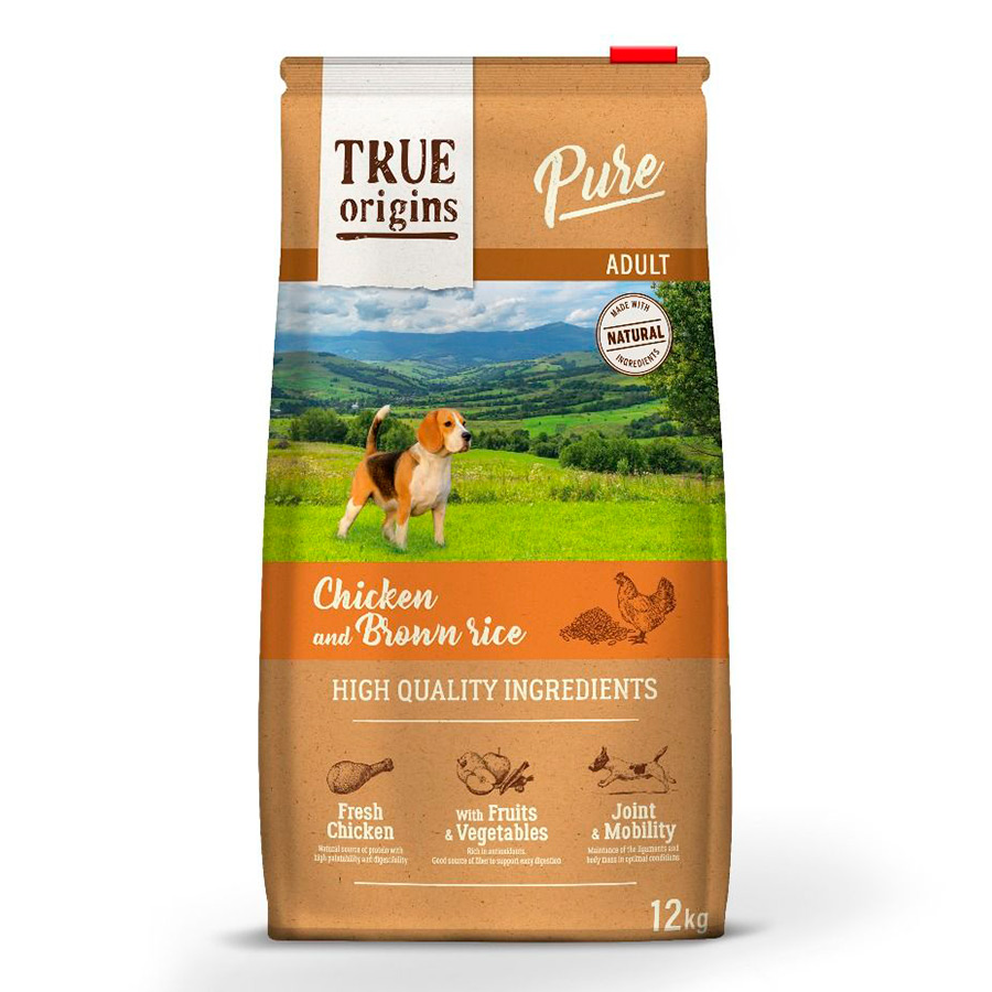 True Origins Pure Dog Adult Pollo, , large image number null