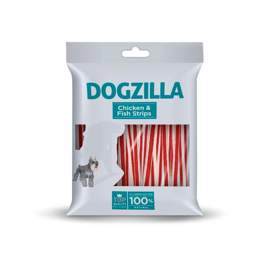 Strips Dogzilla Chicken&Fish 100 gr, , large image number null