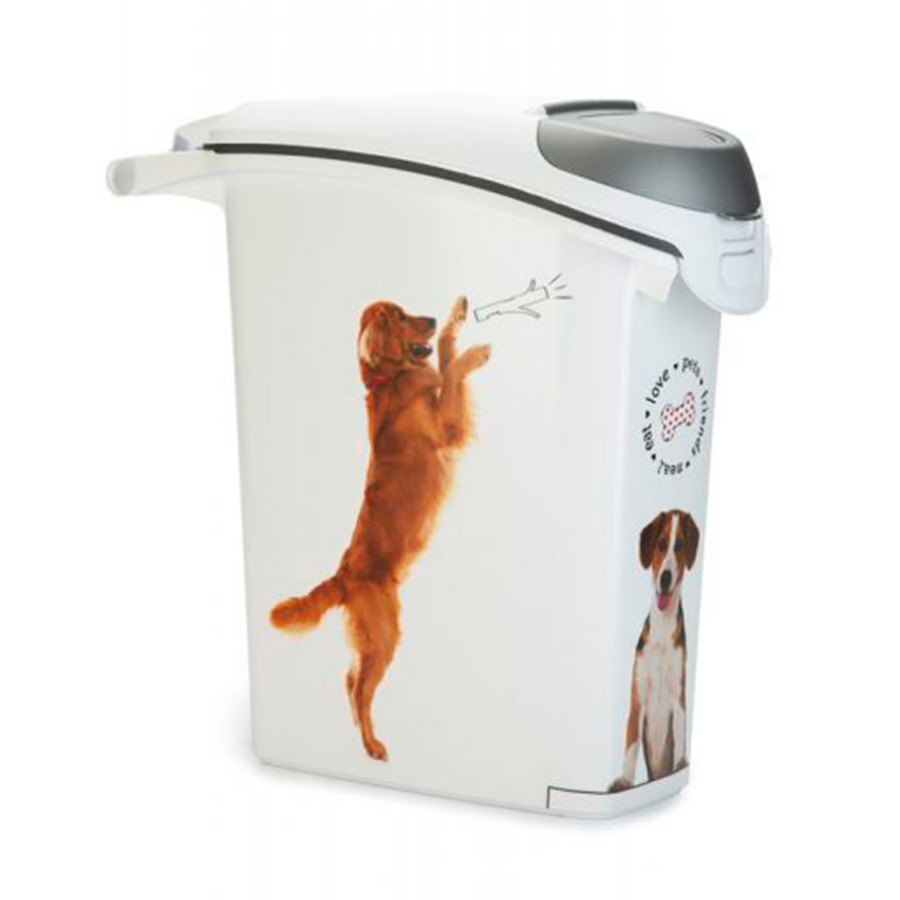Contenedor encajable de alimento Curver para perro 10 kg, , large image number null