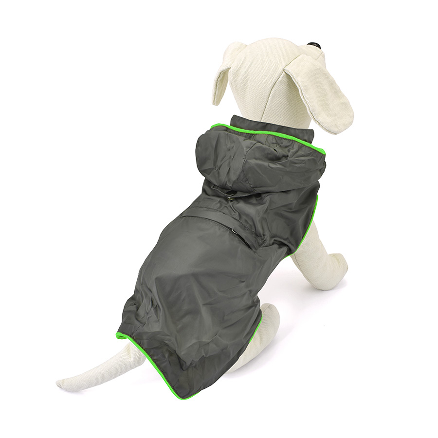 Impermeable para perros Outech Green Neon image number null