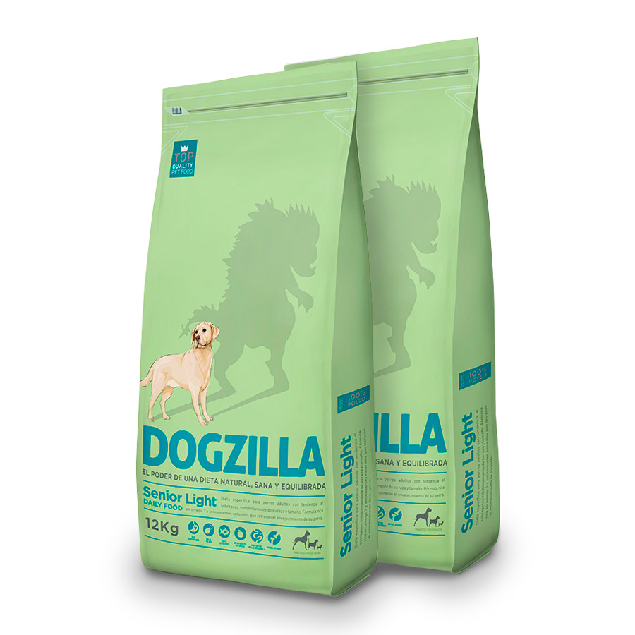 Dogzilla Senior Light Pack Ahorro 12Kg image number null