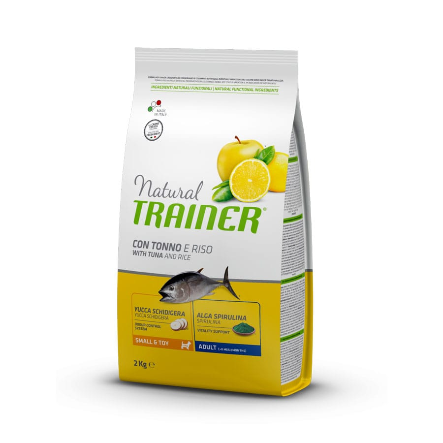 Natural Trainer Mini Pescado y Arroz 2 kg, , large image number null