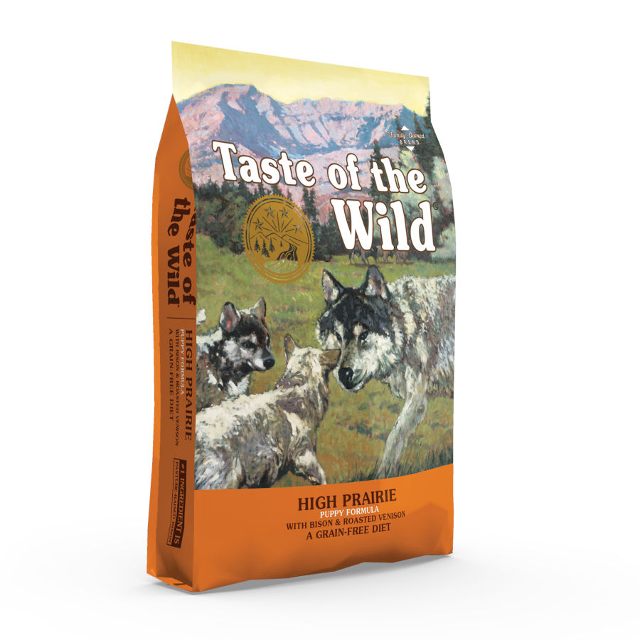 Pienso para cachorros Taste of the Wild High Prairie Puppy bisonte y venado, , large image number null
