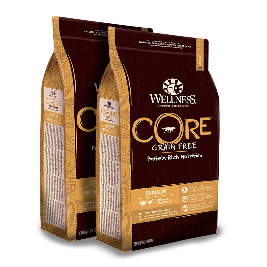 Wellness Core Senior - 2x1,8 kg Pack Ahorro image number null