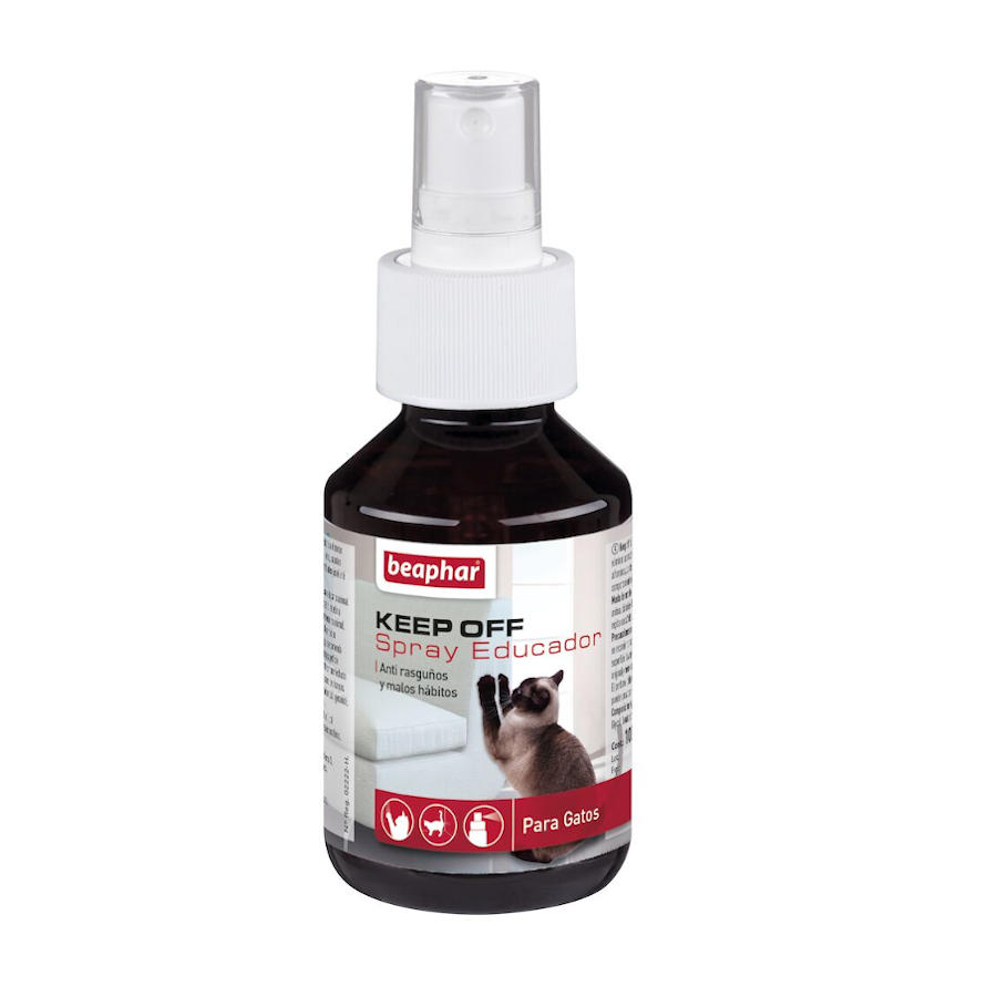 Repelente de interior Keep Off Spray Educador anti-rasguños y malos hábitos para gato, , large image number null