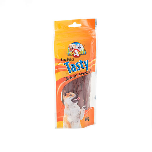 Nayeco King Delice Tasty chuches perros de pato image number null