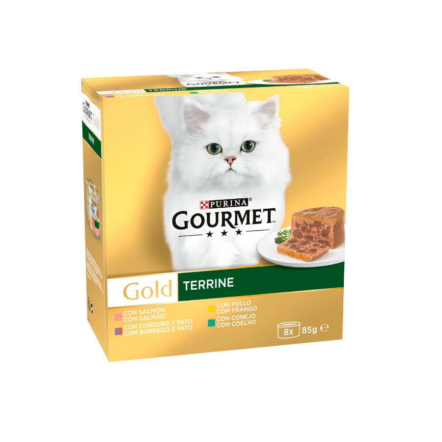 Gourmet Gold Terrine Surtido 8 x 85 gr, , large image number null