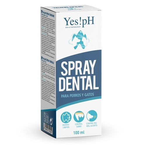 Yes!PH spray bucal cuidado dental para perros y gatos image number null