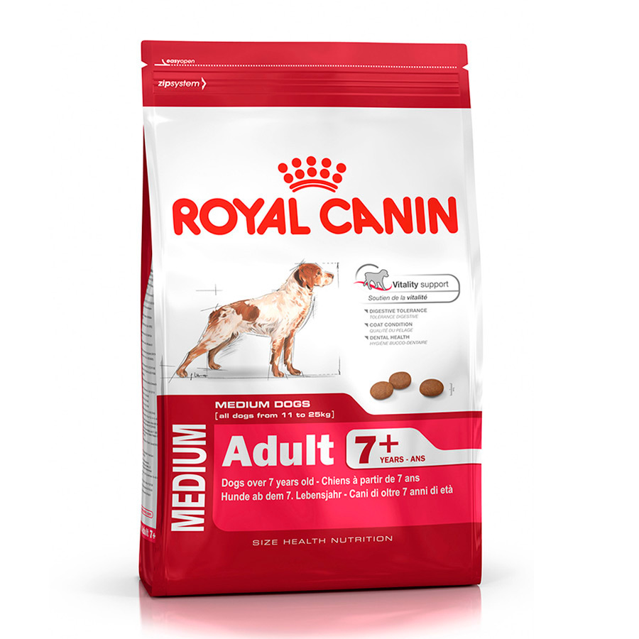 Royal Canin Medium Adult +7 15 kg, , large image number null