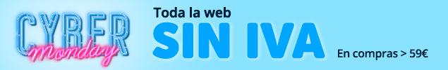 Cyber Monday - Sin IVA en toda la web