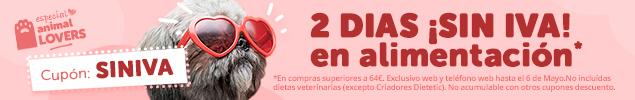 Aprovecha estos dias SIN IVA en alimentación con compras >69€