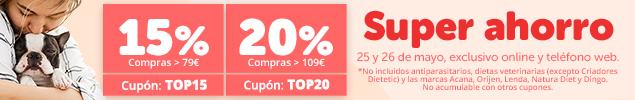 Elige tu descuento: 5€ o 10€